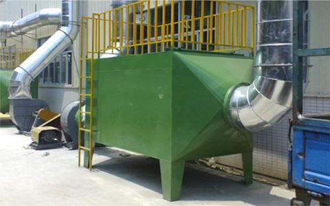上海某企业喷漆废气处理工程