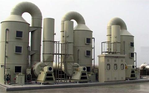 江门某企业酸雾废气处理工程案例