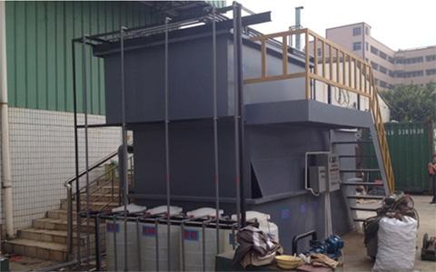 东莞大岭山某企业3m³/h含油废水气浮处理工程案例