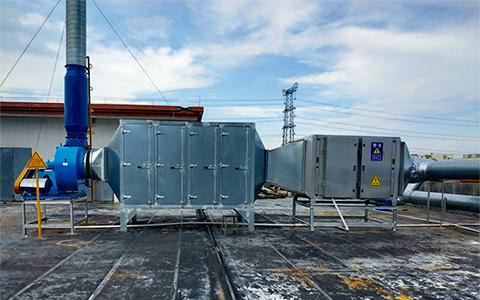 东莞机电废气处理工程案例