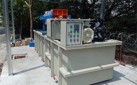 广州彩印污水处理工程案例